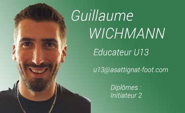 Guillaume Wichmann - Educateur U13