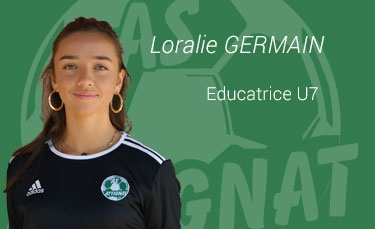Loralie GERMAIN - Educateur U7